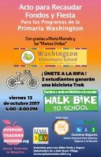 Washington Elementary STH Fundraiser Spanish