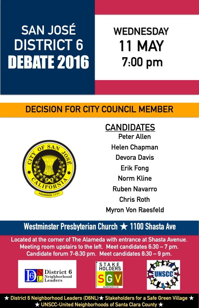 SH District 6 Debate 2016 FINAL JPEG 11x17 Shasta-Hanchett