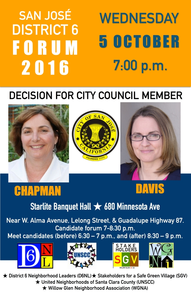 District 6 October Debate 2016 11x17