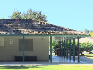 Crumbled shingles: the old Field House as of July 2016, when Stakeholders SGV began its advocacy in the park.